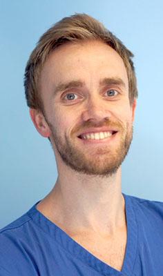 Alasdair Walker dentist at platt & Common in Stirling Scotland