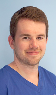 Frazer horn dentist at platt & Common Dental Practice in Stirling