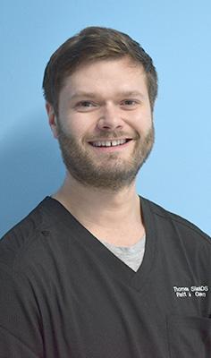 Thomas Slack dentist at Platt & Common in Stirling
